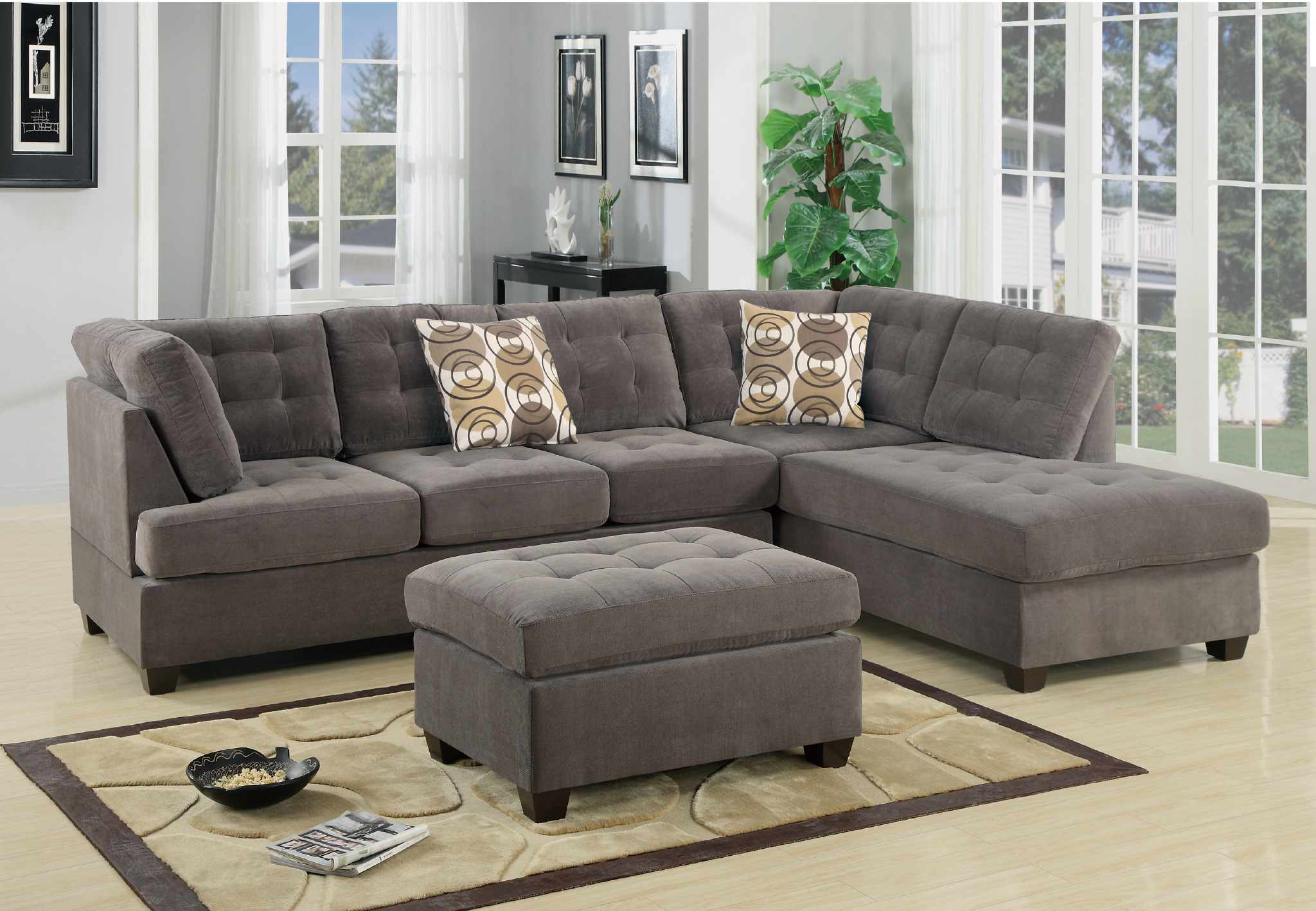 2 Piece Sectional Sofa Bucio S Furniture
